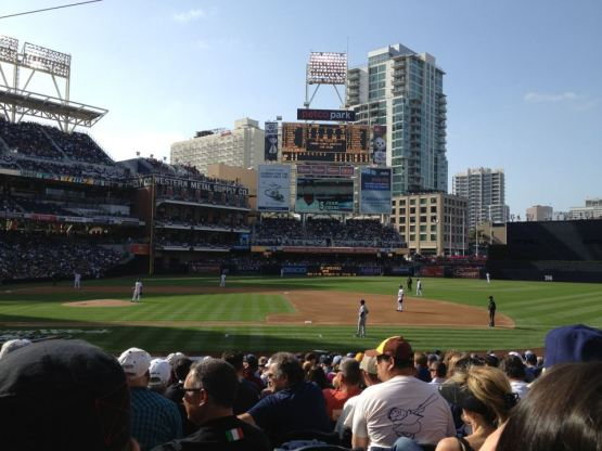 Dodgers at Padres